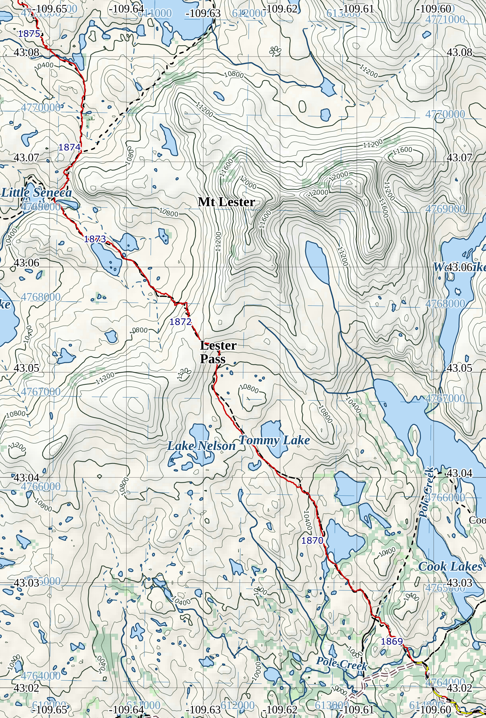 Cdt Colorado Map.Continental Divide Trail Maps