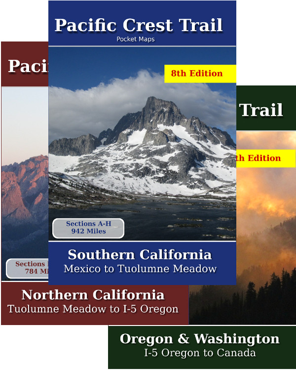 Pacific Crest Trail Pocket Maps