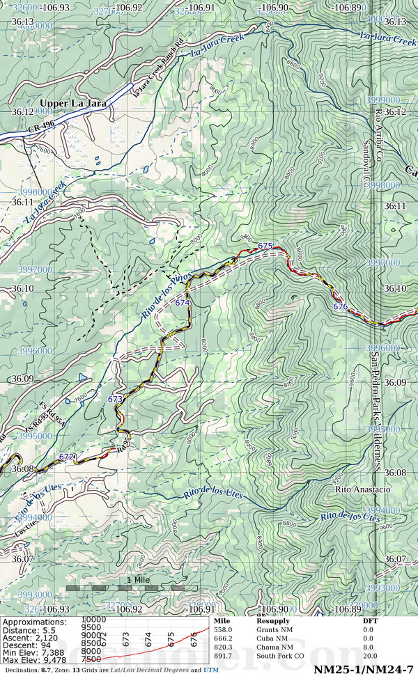 Continental Divide Trail Map Book Preview - Cdt trail map