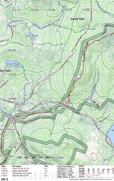 Appalachian Trail Map Book Preview